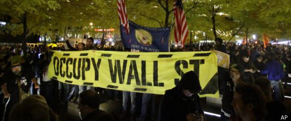 Οι καταληψίες της Wall Street επανήλθαν